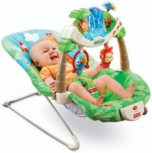 Baby bouncer, childhood development www.parentinghow.com