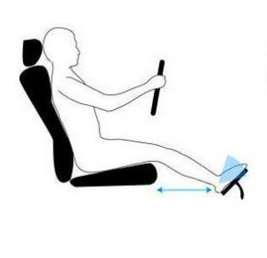 How to adjust your car seat to prevent back pain.