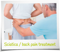 Sciatica back pain treatment manchester