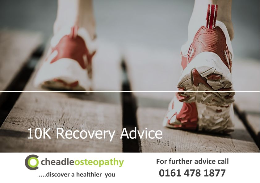 Essential tips for 10K Recovery.