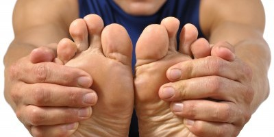Foot pain – caused by Plantar Fasciitis.